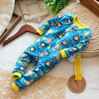 100% children's cotton baby clothing air conditioning romper animal style spring and autumn baby one piece