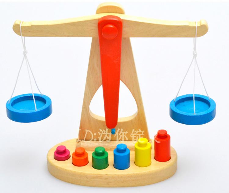Bébé puzzle en bois jouet échelles de palettes masse déquilibrage  ~ Poids Palette Bois