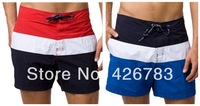 Hot sale 2014 Fashion Brand men shorts short board beachwear sport swimwear male surf beach shorts