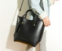 High Quality Women Handbags Famous Brands Genuine Leather Bags Women Vintage Shoulder Bags New 2014 Fashiong Women Bag