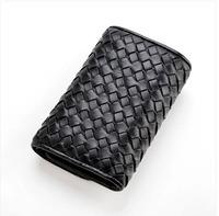 Multifunctional 2014 key wallet women's genuine leather sheepskin knitted male auto key bag