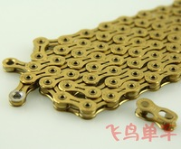kmc X10SL TI NITRIDE 10s chain road MTB bicycle chain 116L