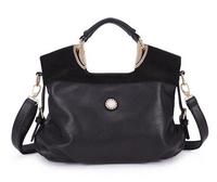 New 2014 handbags design women Genuine Leather Bags Luxury Vintage Elegant Cowhide bag classics messenger bags women handbag