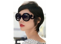NEW Retro Inspired Women Butterfly Clouds Round  Sunglasses Free Shipping S-013