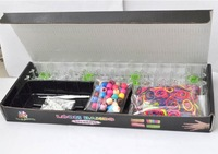 Rainbow knitting machine Braided Bracelet Set New models with 40 color tact Children's Gifts Black box installed Free shipping