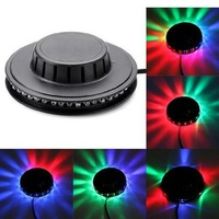 8w 48 LED 90-240v Auto & Voice-activated LED RGB Mini Stage Light Bar Party Disco Dj Stag Free Shipping