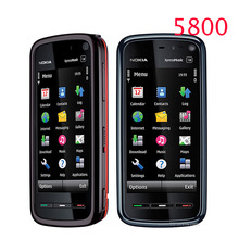 Hot sale Unlocked mobile phone Nokia 5800 xpressmusic 3 15MP Camera GPS Wifi FM radio Bluetooth