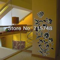 Free Shipping 2014 New Design--Wallpaper Decor Wall Art Mural Wall Sticker Vinyl Decal Flower Decoration Branch XY-8035