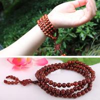 2014 new jewelry gift China factory 108pcs of 6mm&8mm Buddha Pipal tree seeds beads malas Linden Red Bodhi Bodisu Beads bracelet