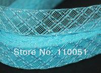 0.8'' Wide New Style Diamond Crinoline Horsehair for hats & fascinators 100yard/lot #7colors