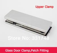 Free shipping Glass door clamp up clamp HC-3120D glass door hardware accessories door clip patch fitting