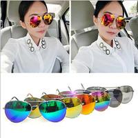 Fashion style outdoor coating sunglasses women brand designer men sun glasses vintage oculos de sol goggle lenses sunglasses