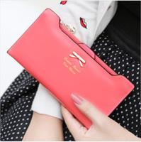 messenger bag women's design wallet change purse for women FREE shipping KARAN 2014 sweet bow plug-in women's long design wallet