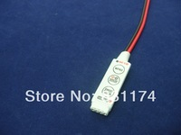 Mini LED RGB Strip Controller;DC5-24V input,4A*3channel output