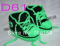 free shipping, 80pair/lot Crocheted Baby Saddle Oxfords, Sport Shoes, Sneakers, Booties, size 0-18 months,