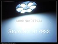 2014 new 2 pcs 1156 P21W 5630 LED 6 SMD R10W turn signal steering lamp reversing back up light white blue