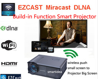 Build in Miracast Airplay DLNA Wifi 1280x800HD LED projector Wireless connect -iphone android phone Tablet to big project screen