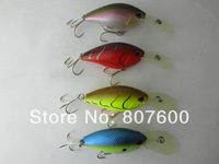 Crazy Fish - Japan Fishing Wobbler Deep Water Shad Crankbait 58mm 28g Arashi Deep 10' 4 Pcs/Lot