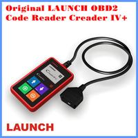 2014 Original LAUNCH OBD2 Code Reader Creader IV+ Auto Scanner Diagnostic Tool Free Shipping