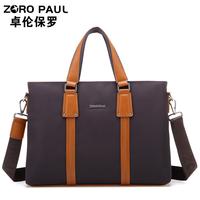 Waterproof oxford fabric business casual man bag computer handbag shoulder bag briefcase paul  fashion style