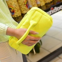 Bags 2013 clutch day clutch women's handbag small bag wrist length bag neon bag  free shipping