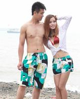 Free shipping hot sales new lovers summer swim beach pants 2014 fashion shorts women and shorts men X_35 wholesale