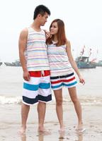 Free shipping hot sales new lovers summer swim beach pants 2014 fashion shorts women and shorts men X_32 wholesale