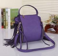 2014 new arrival. original design, women's messenger bag with tassel,fashion classic vintage totes bag,ladies' one shoulder bag!