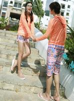Free shipping hot sales new lovers summer swim beach pants 2014 fashion shorts women and shorts men X_34 wholesale