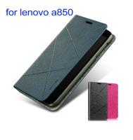 original lenovo a850 leather case Vpower Art series lenovo a850 case with Free shipping