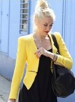 Осенние normic моды красивый мотоцикл пу тонкий золотой бархат женские кожаные одежды куртка молнии