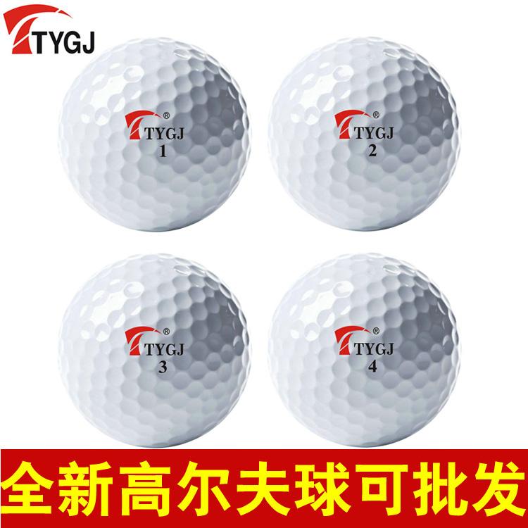 10 pcs/pack golf ball exercise ball hand ball Golf tournament,Two layer ball(China (Mainland))