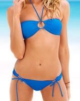 victoria swimwear push up bikinis set maillot de bain bikini piece swimsuit lady bikini set 1pc/lot