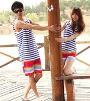 Free shipping hot sales new lovers summer swim beach pants 2014 fashion shorts women and shorts men X_40 wholesale