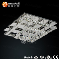 2014 new style design modern ceiling light ,crystal ceiling chandeliert light for living room/bedroom OM88088FW