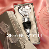 Free Shipping 2014 high quality Choice Crystal section heart stopper exquisite Wedding Souvenir Gift wholesale