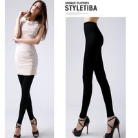 Spring/Autumn design ~ 12000D Lycra leg slimming  ninth pants Fat Burning Leg Shaper Slender Legs