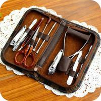 Min Order $15(mixed order) nail clipper set piece set repair finger scissors pedicure plier set beauty tools  JM4652