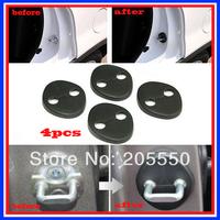 Car Door Lock Protecting Cover for Tucson IX35 / IX45 /Elantra Avante MD/ YF Sonata/ Sportage R I30 4pcs per set