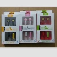 Lollipop mobile phone cartoon mobile phone headphones earphones wire
