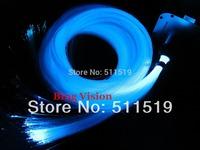 1400 strands 2m mix size PMMA fiber  27w twinkle /glitter  LED optic fiber light  star ceiling kit, with IR 24 key touch remote