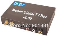 2014 Updated car dvb-t digital tv tuner Twin tuners HD 1080P H.264 MPEG1-4 timeshifting HDD USB2.0 RCA AV input MPG MKV AVI  MOV