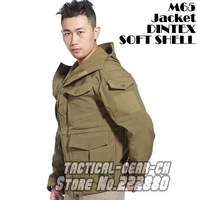 Outdoor military M65 jacket multifunctional tactical trench softshell sporting DINTEX TAD military parka windproof free shipping