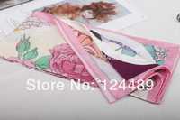 2014 Special Offer Promotion Animal Adult Fashion Women 80cm-100cm Latest Digital Printing 100% Silk Scarf Square Scarves Shawls