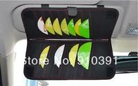 New Arrival Two in One Car tissue box DVCD case sun visor,Car napkin box CD holder Clip Sun shield as car interior accessory.