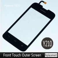 Original Black Touch Screen For Huawei Ascend Y210 Touchscreen Digitizer Replacement Free Shipping 5pcs/lot