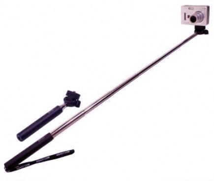 2014 new gopro pole Extendable Aluminum Telescoping Handheld Monopod with mount adapter for GoPro Hero 1/ 2/ 3 Camera(China (Mainland))