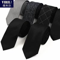 Men's neck tie fashion casual tie narrow 6cm stripe marriage tie free shipping