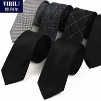 Men's neck tie fashion casual tie narrow 6cm stripe marriage tie free shipping