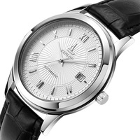 Ultra-thin watch fully-automatic mechanical watch male table waterproof brief watch
